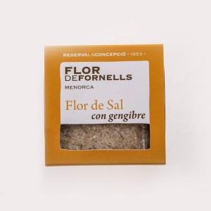 sal con gengibre (fornells)